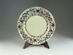 0N518 Bambusz mintás Zsolnay süteményes tányér