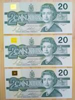 Sorkövető Kanadai 20 dollár