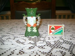 ANTIK porcelán ibolya váza