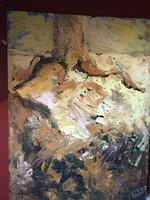 Ludo vets huge oil 160x120