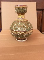 Zsolnay antik vaza az arab sorozatbol