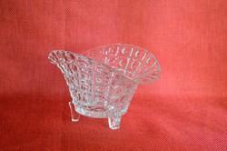 Meseszép virágszirom alakú Ólomkristály Bonbonier/ Asztalközép