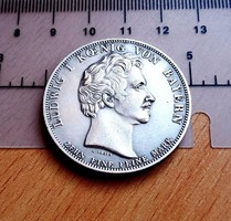 EXTRA SZÉP LUDWIG BAYOR EMLÉKÉRME U.V. 1834 X EINE FEINE MARCK