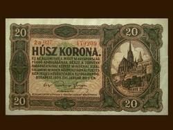 20 KORONA - GYÖNYÖRŰ ÁLLAPOTBAN - GYŰRŐDÉSMENTESEN