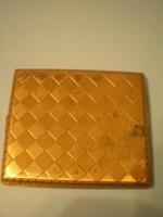 Arany színű cigaretta tárca U8
