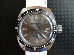 Berli-lyon hand-snapping unisex diving watch