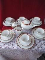 1782 6 személyes Heinrich kávés süteményes készlet.