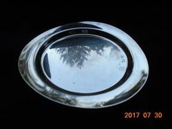 WMF-ezüstözött háromszögletes tálka-kupolás jelzéssel(1935-45)