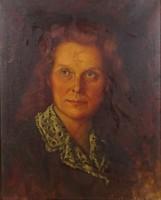 0M556 Fridrich Gábor : Női portré