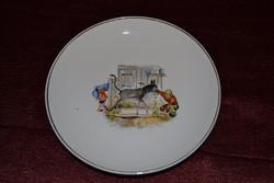 Hollóházi mese tányér  ( DBZ 0067 )