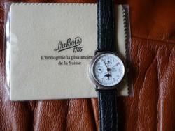 DuBois 1785 Le Chronographe 1910 925er Sterlingsilber automata férfi karóra
