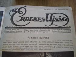 Érdekes Újság 1915.évi 14.szám-26.számig bekötött példánya