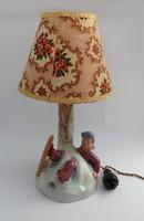 Figurális Iparművész Kerámia lámpa