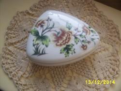 Hollóházi porcelán nagy bonbonier