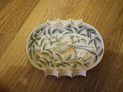 Herendi Zova mintás porcelán hamutál, hamutartó