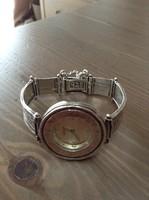 Kézműves Shablool izraeli ezüst óra