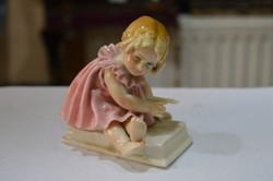 ENS porcelán kislány