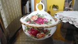 Royal Albert Old Country Roses ékszertartó, bombonier