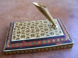 Régi asztali tolltartó