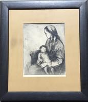 Zilahi Edit: Anya gyermekével