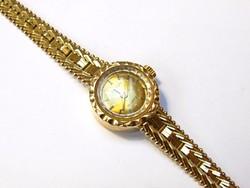 Női arany óra, nettó 22 gramm,14K.