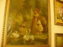 Gergely Imre (1868-1957) festő festménye