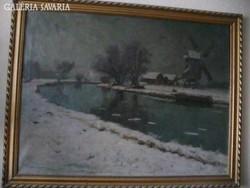 Kárpáty Jenő festmény