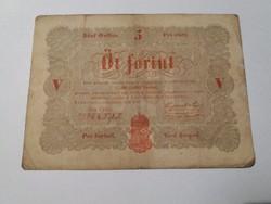 5 Forint 1848 /6.