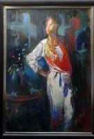 Walter Gábor festmény