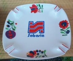 Sabaria, Savaria, Szombathely Hollóházi porcelán hamutál