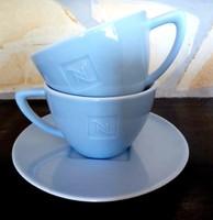 Nespresso hosszúkávés világoskék csészék