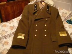 Alezredesi posztó kabát