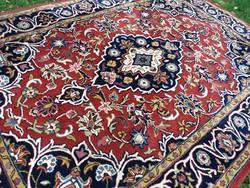 Indiai kézi csomózású Keshan szőnyeg