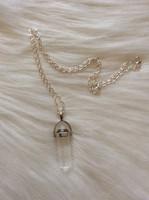 Hegyikristály amulett medál+ajándék