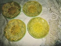 """4 db Lady Chippendale""""antik desszertes tányér"""