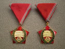 Kiváló munkáért kitüntetés