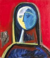 Aknay János (1949 - ): Festőangyal , Szentendre