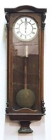 0N851 Antik Biedermeier egy súlyos falióra