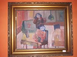 Ámos Imre festmény eladó