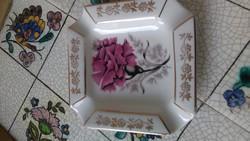 Régi lengyel cmielow porcelán hamus