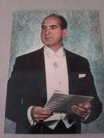 Hanglemez és üdvözlőlap -  COLORVOX  zenélő képeslap, Melis György énekel