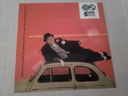 Hanglemez és üdvözlőlap -  Zenélő képeslap Ausztriából