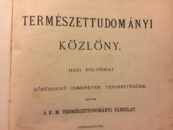 Természettudományi Közlöny  1880 év 125-136