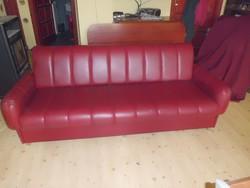 Retro 4 személyes kanapé /nem kinyitható/ .