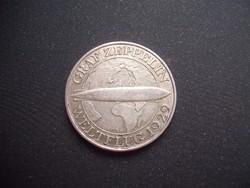 Zeppelin 3 márka 1930 A RITKA !!!