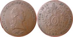I.Ferenc 6 krajcár 1800 B Körmöcbánya