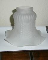 Virágszirom alakú lámpabúra  üvegből