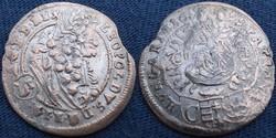 Leopold  3 kreutzer   1699   Ag ezüst