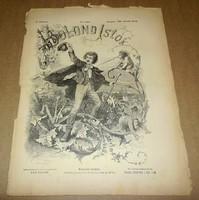 Bolond Istók, 1880 március 28., régi, antik újság, humor, vicc, politika, vers, XIX. század