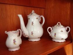 Zsolnay 6 személyes teáskészlet